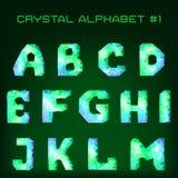 Diamond font Stock Photos