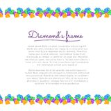 Diamond Frame Stock Images