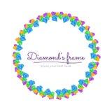 Diamond Frame Stock Images