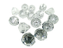 Diamond gem stones crystals Stock Photo