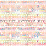 Diamond geometrical flag multi-colored abstract background Royalty Free Stock Images