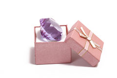 Diamond gift Stock Photos