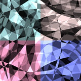Abstract background. Abstract Diamond Glass Pattern Vector Background. color squares are removable. Reveal the Clipping mask for a bigger pattern running ahead royalty free illustration