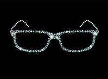 Diamond Glasses Stockfotos