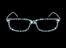 Diamond Glasses Stock Photos