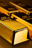 Diamond and gold, ambient financial concept Royalty Free Stock Photo