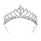 Diamond gold tiara for princess Royalty Free Stock Photo