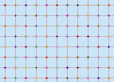 Diamond grid Stock Photo