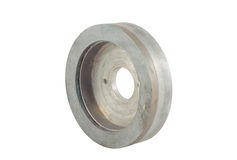 Diamond Grinding Wheels for Carbide Sharpening Royalty Free Stock Image