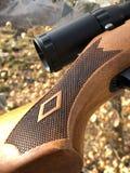 The diamond gun Stock Photography