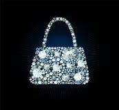 Diamond Handbag Stock Photography
