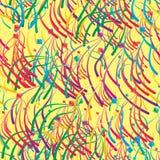 Diamond happy fly seamless pattern Royalty Free Stock Photos