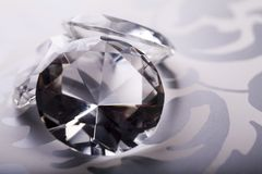 Diamond - a hard stone Stock Photos