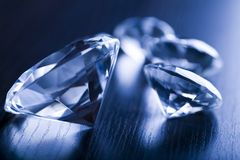 Diamond - a hard stone Royalty Free Stock Images