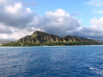 Diamond Head. Oahu, Hawaii Royalty Free Stock Photos