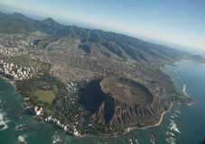 Diamond Head Royalty Free Stock Photography