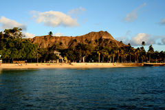 diamond head Obrazy Stock