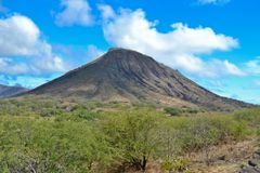 Diamond Head Crater Royalty Free Stock Photos