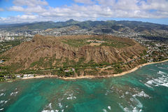 Diamond Head Crater Stockfotografie