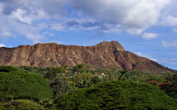 Diamond Head Crater Royalty Free Stock Photography