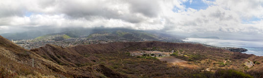 Diamond Head Crater Photo libre de droits