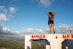 Diamond Head en Hawaii Fotografía de archivo libre de regalías