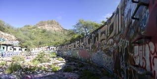 Diamond Head Graffiti Imagens de Stock