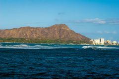 Diamond Head Hawaii Stock Image