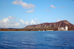 Diamond Head Hawaii Stock Photography