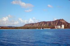 Diamond Head Hawaii Stock Photography