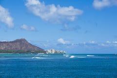 Diamond Head Hawaii 004 Royaltyfri Fotografi