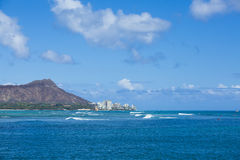 Diamond Head Hawaii 002 Images libres de droits