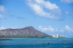 Diamond Head Hawaii 001 Stock Photos