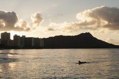 Diamond Head Hawaii Royalty Free Stock Photography