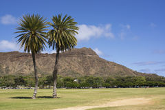 Diamond head hawaii Royalty Free Stock Photo