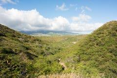 Diamond Head a Honolulu, stato delle Hawai Fotografia Stock Libera da Diritti
