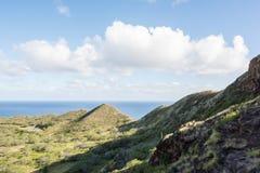 Diamond Head a Honolulu, stato delle Hawai Immagine Stock