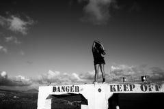 Diamond Head i Hawaii Royaltyfri Foto