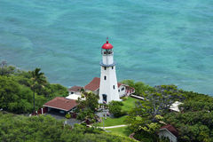 Diamond Head Lighthouse Royalty Free Stock Images