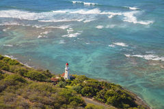 Diamond Head Lighthouse Fotografia de Stock Royalty Free