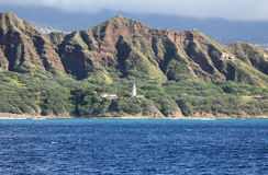 Diamond Head Lighthouse Imagenes de archivo