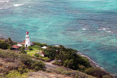 Diamond Head Lighthouse Royaltyfria Bilder