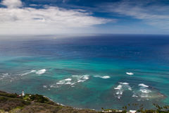 Diamond Head Lighthouse Arkivfoton