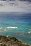 Diamond Head Lighthouse Arkivfoto