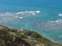 Diamond Head lighthouse, Honolulu Stock Photos