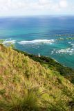 Diamond head Lighthouse view from the top. Royalty Free Stock Image