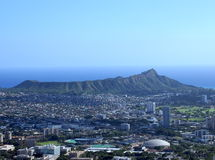Diamond Head Royalty Free Stock Images