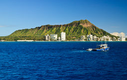 Diamond Head, Oahu Hawaii Stock Image