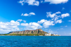 Diamond Head, Oahu Royalty Free Stock Photography