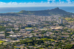 Diamond Head Royalty Free Stock Photo